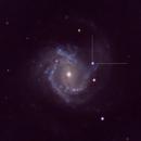 M61 with SN 2020 jfo RGB,                                Michael J. Mangieri