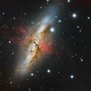 M82 - Cigar Galaxy,                                Dhaval Brahmbhatt