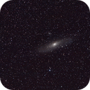 M31 - Andromeda Galaxy w/ Barn Door Tracker,                                Hado