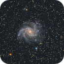 NGC 6946: The Fireworks Galaxy,                                Nigel Bannister