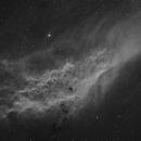 California Nebula in hydrogen alpha,                                Bruce