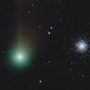 Comet C/2020 F3 (NEOWISE) passing M 53,                                Rainer Raupach