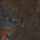 3 Panel Mosaic - IC348 to NGC1333,                                Arno Rottal
