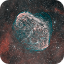 Ngc6888 with his shy soap bubble,                                regis83