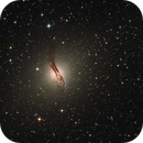Centaurus A, NGC5128 in LRHaGB,                                TWFowler