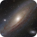 M 31 from astroholiday,                                Christoph Lichtblau