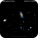 ngc5985 ngc5982 galassie nel draco                                                   distanza 110 milioni A.l.,                                Carlo Colombo
