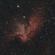 NGC 7380 - Wizard nebula,                                Tom914