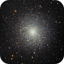 M13 The Hercules Cluster, LRGB Image, from HD8,                                Eric Coles (coles44)