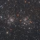 Double Cluster,                                Dennis Sprinkle
