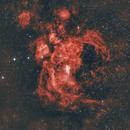 "NGC 6357 ""Lobster Nebula"" OR ""Michael Jordan Nebula"",                                Patricio Segovia"