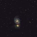 m51, IC4263,                                Bert Scheuneman