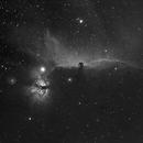 IC434 Horsehead Nebula HA,                                Fritz