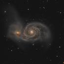 M51, Whirlpool Galaxy,                                helios