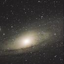 Andromeda galaxy,                                Grozdan Grozev