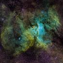 NGC 6188 (The Rm Nebula) & NGC 6164,                                Jeff McClure