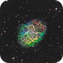 Crab Nebula with C14 and Hobym 320HD Mount,                                Ray's Astrophotography