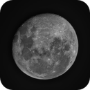 Moon through Guidescope,                                Cliff_VK2NP