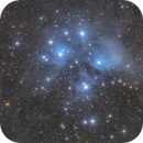 M45 - Pleiades,                                Dustin Lee