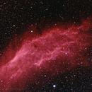 Ha enhanced California Nebulia (NGC1499),                                Bill Mark