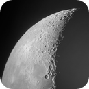 Lunar craters with smartphone,                                Giuseppe Nicosia
