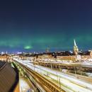 Northern Lights over Stockholm,                                Alessandro Merga...