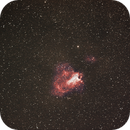 M17 the Swan Nebula,                                RonAdams