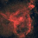 Heart nebula in H-RGB(OSC),                                Greg Watkins