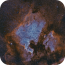 NGC 7000 BICOLOR,                                Riccardo Crescimbeni