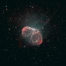 NGC 6888 Crescent Nebula HOO,                                Peter Bresler