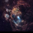 Lobster Nebula NGC6357 HOO,                                Ben