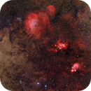 NGC6334, NGC6357, Sh2-12, Sh2-15,                                Rolf Dietrich