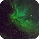 SH2-142 (NGC7380) - Wizard Nebula  SHO Variant,                                Richard Bratt