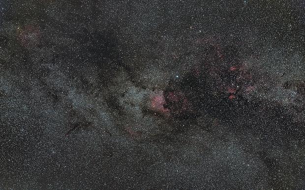 NGC 7000 North America Nebula Wide field,                                Gebhard Maurer