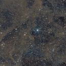 Iris nebula and molecular clouds in Cepheus,                                Paul Fays-Long