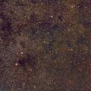 Above the Feather of Sagitta HaLRGB Sh2-82 NGC 6802 and LDN 722-765,                                Niko Geisriegler