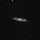 M108 (Surfboard Galaxy) - 21 March 2017,                                Geof Lewis