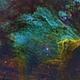 Pelican Nebula in SHO,                                oystein