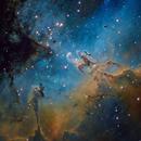 M 16 Pillars of Creation,                                SCObservatory