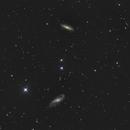 NGC 4536 & NGC 4527,                                Jacek Bobowik