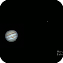 Jupiter animation - 09/04/2017,                                Marco Gulino