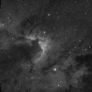 Cave Nebula , the wild beauty of black and white,                                Theodore Arampatzoglou