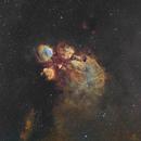 Cat's Paw Nebula - NGC6334,                                Magellan_Team