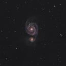 M51  The Whirlpool Galaxy,                                Dom Schepis