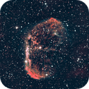 ngc 6888 - combination O3 and Ha - first try,                                Stefano Ciapetti