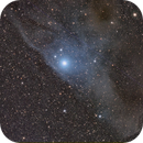IC4592 LRGB - The Blue HorseHead Nebula's Horse Head,                                andrea tasselli