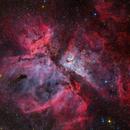 Caldwell 92 - The Eta Carina Nebula,                                Rafael Schmall
