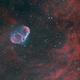 Crescent Nebula Bicolor Ha & OIII,                                Temu Nana