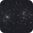 The Double Cluster in LRGB,                                Scott