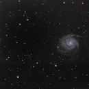 M101 Pinwheel Galaxy,                                Edward Overstreet